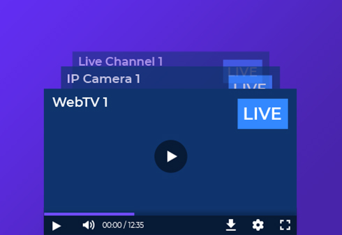 Unlimited Live Streaming